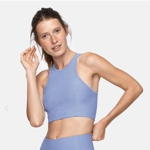 Outdoor Voices Athena Periwinkle workout crop top